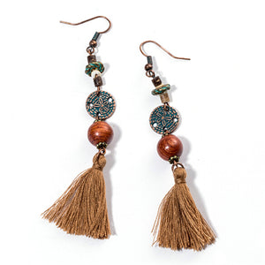 Vintage  Drop Earrings_02nc/ 16 Types & 2 Colors available; Click to View