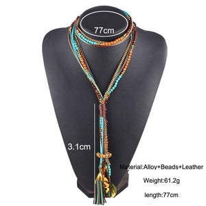 Fashion Necklace_01la/ 3 Colors Available; Click to View