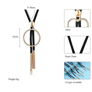 Fashion Long Necklace _06ln/ 4 Types Available, Click to View