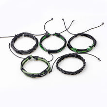 Leather Bracelet Sets_18la/19 Amazing Types Available; Click to View