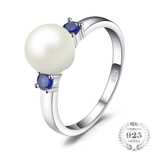 Pearl Round Ring