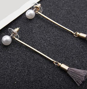 Fashion Tassel Earrings _24le/3 Colors Available, Click to View