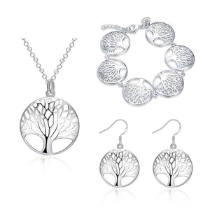 Fashion Tree of life Jewelry Set