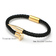 Leather Charm Bracelet_05ln / 10 Colors Available, Just Click to View