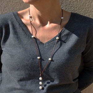 Necklace Leather _02la