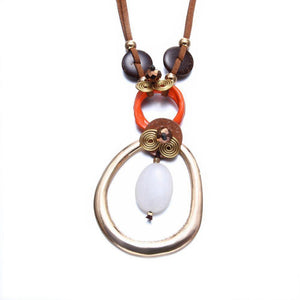 Leather Fashion Necklace