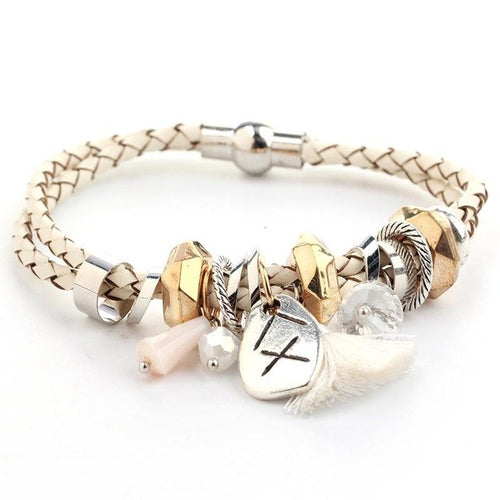 Rope Bracelet_01la/ 3 Colors Available; Click to View