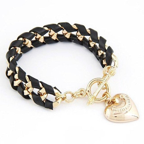 Fashion Leather Bracelet_05ln / 5 Colors Available, just Click to View