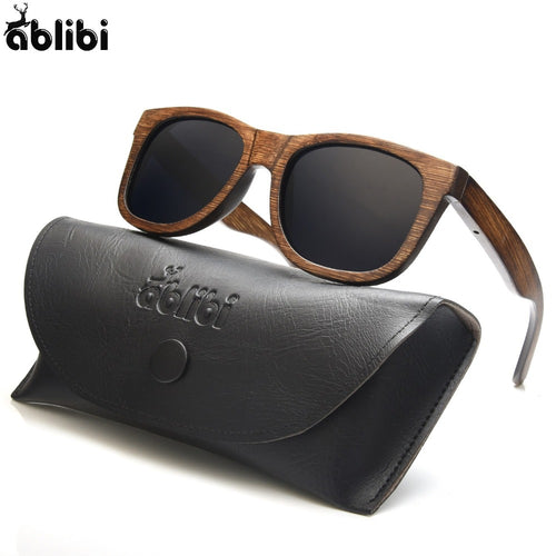Trendy Wooden Sunglasses