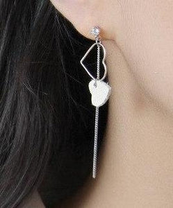 Leather Earrings_23le/ 2 Colors Available