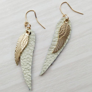 Fashion Leaf Earrings_5 Colors Available