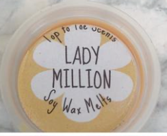 LADY MILLION Perfume Dupe Soy Wax Melts