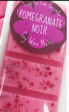 Load image into Gallery viewer, Pomegranate Noir JoMo Soy Wax Melts