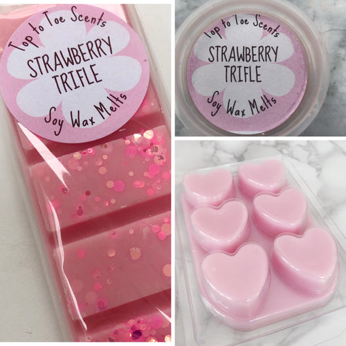 Strawberry Trifle Soy Wax Melts