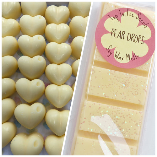 Pear Drop Soy Wax Melts
