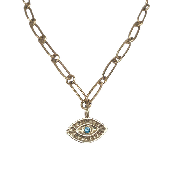 The Original Protective Eye Gem Necklace