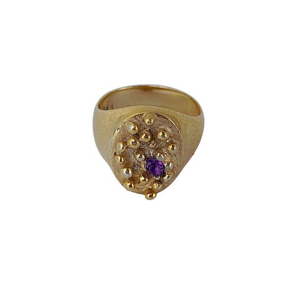 One-in-a-million Ring Signet Ring