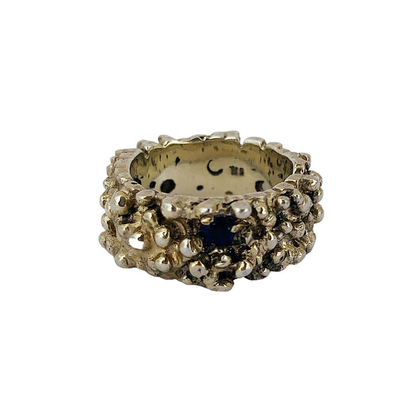 One-in-a-million Ring with Lolite