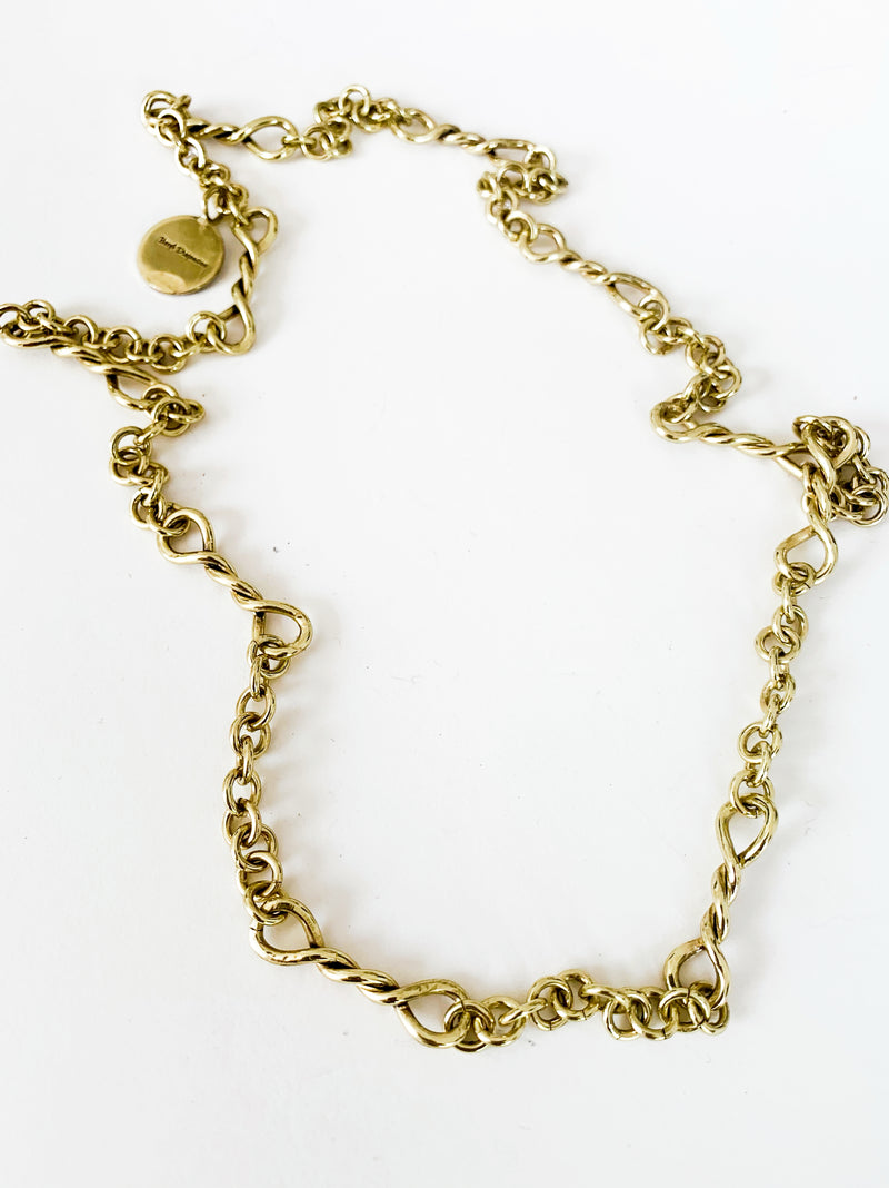 Twist Link Necklace