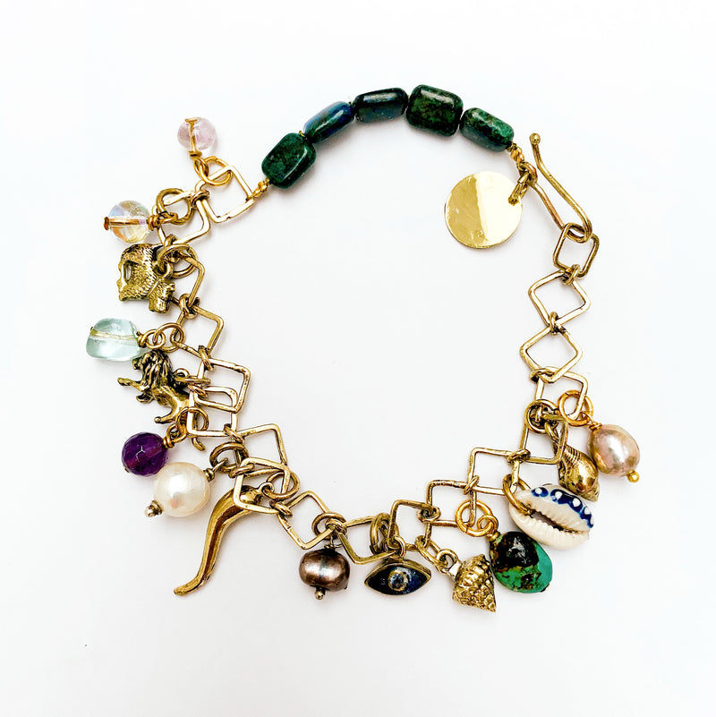 The Jade Celebration - Ankle Chain
