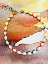 Rainbow Pearls Necklace