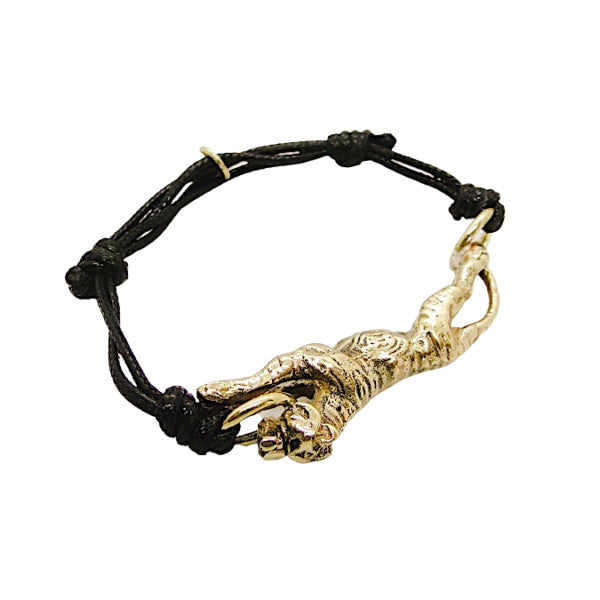 Leaping Tiger Cord Bracelet