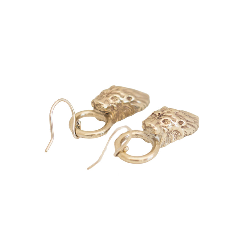 Lion Cocktail Earrings
