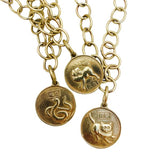 Saigon Animal Discs Necklace