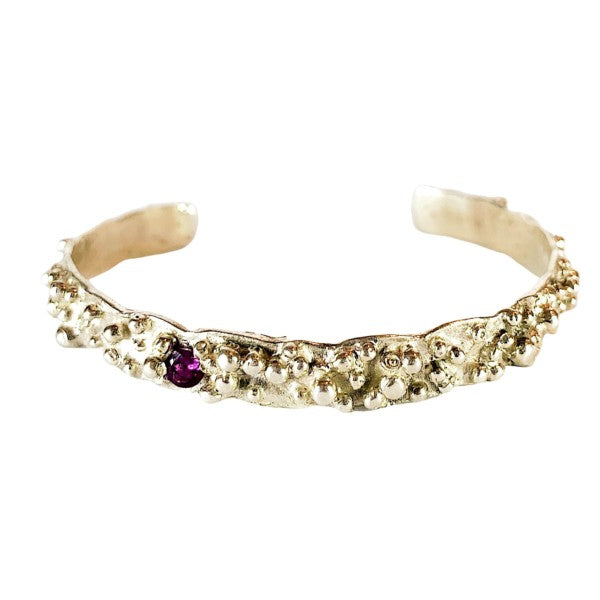 One in a Million Bangle set with Amethyst