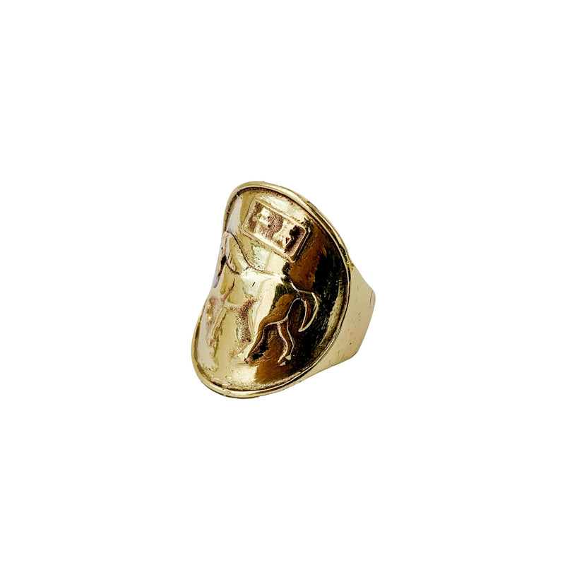 Saigon Horse Coin Ring