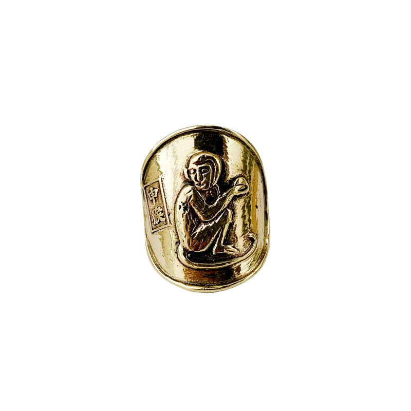 Saigon Monkey Coin Ring