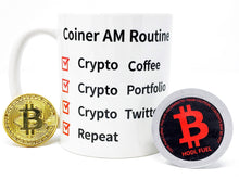 Load image into Gallery viewer, Bitcoin Single-Serve Coffee Cups