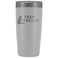 Load image into Gallery viewer, Team Litecoin Tumbler 20oz