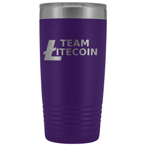 Team Litecoin Tumbler 20oz