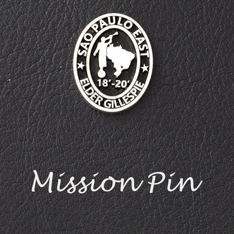 missionary pins custom mission pins church of jesus christ of latter day saints mission pin personalized jewelry