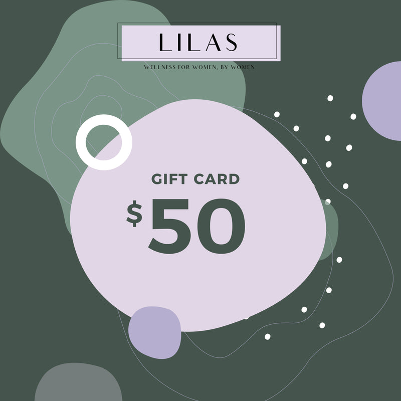 LILAS Wellness Gift Cards: For Women By Women