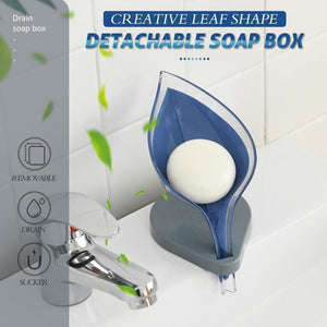 Creative Leaf Shape Detachable Soap Box