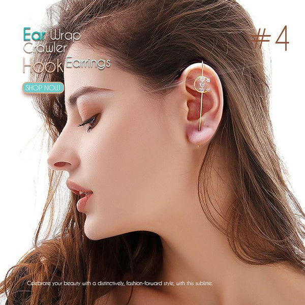 (50% OFF)Ear Wrap Crawler Hook Earrings