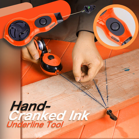 Hand-Cranked Ink Underline Tool