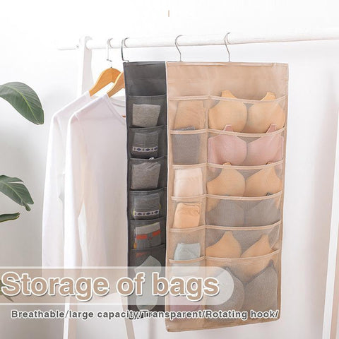 Multifunctional Double-Sided Bag Storage Hanging Bag