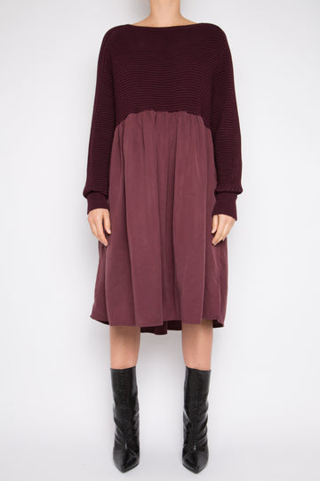 Gehu Dress in Rosewood