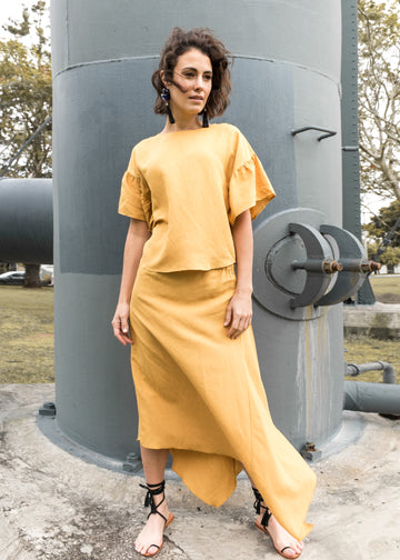Pipa Skirt in Honey