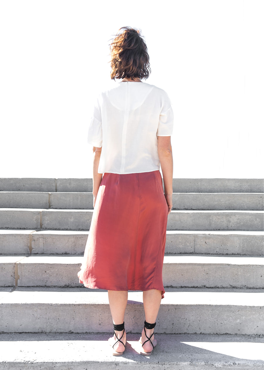 Sheng Skirt in Clay