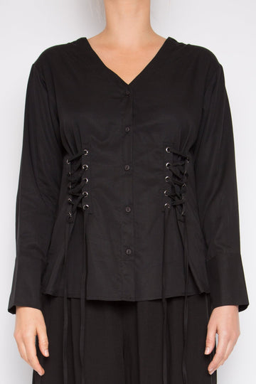 Muyu Top in Black