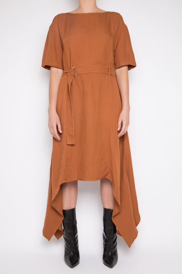 Sanhu Dress in Amber