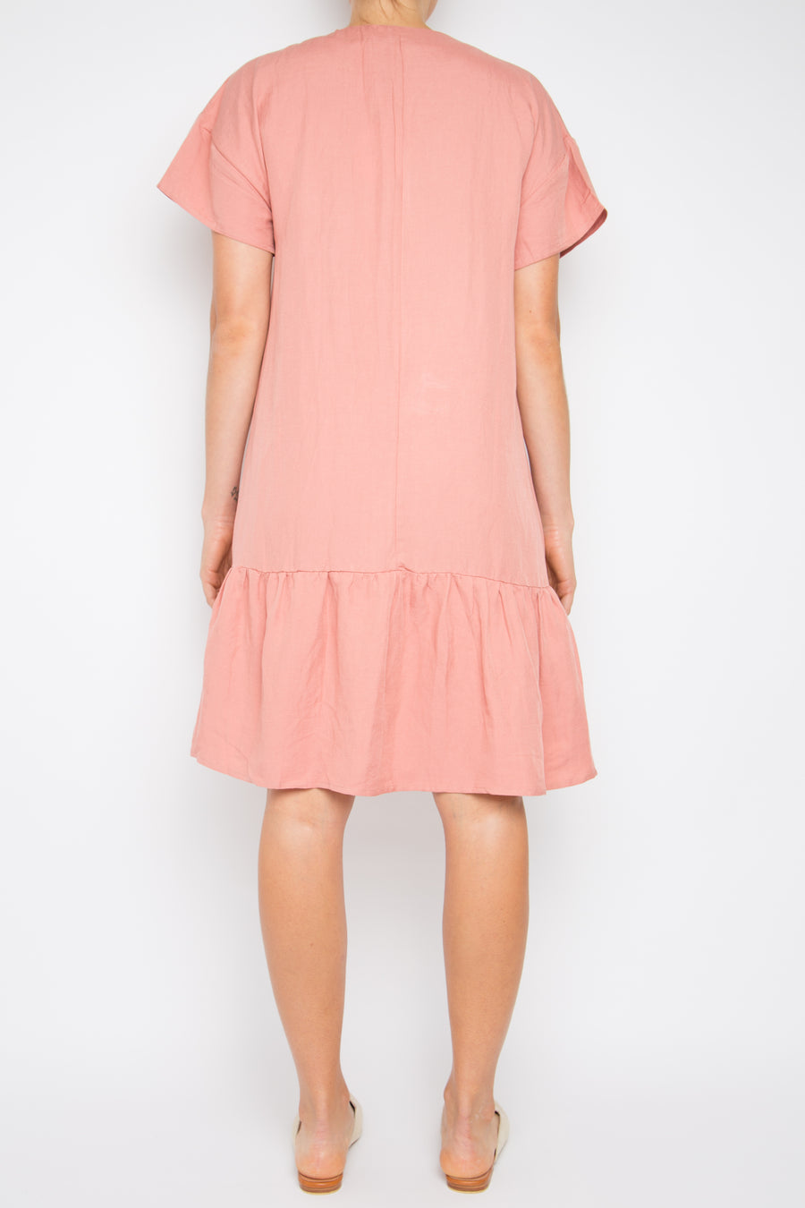 Hululu Dress in Terracotta