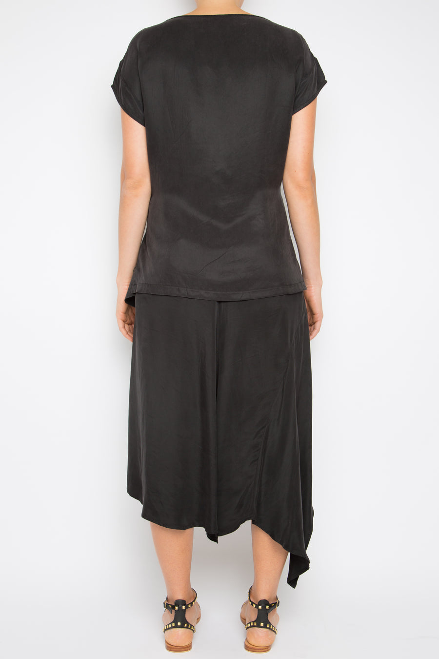 Herlusi Top in Black