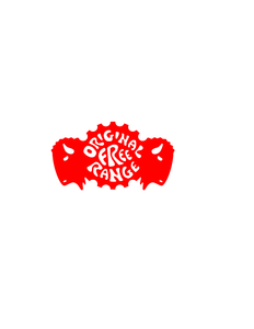 Original Free Range Logo in red