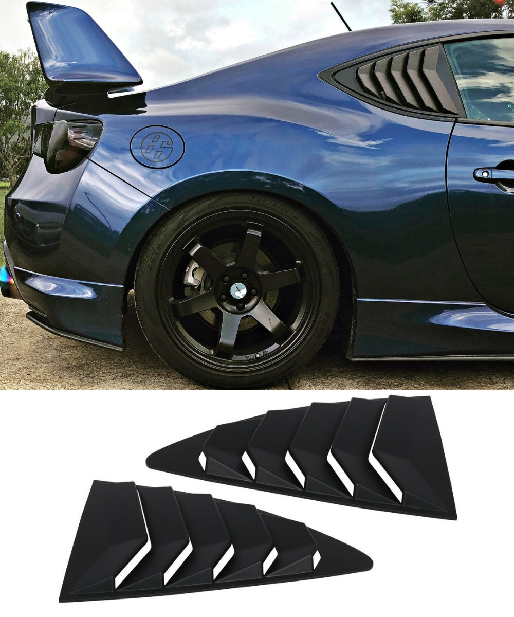 Toyota 86 / Subaru BRZ - Side Louvers (12-19) - ELITE GARAGE