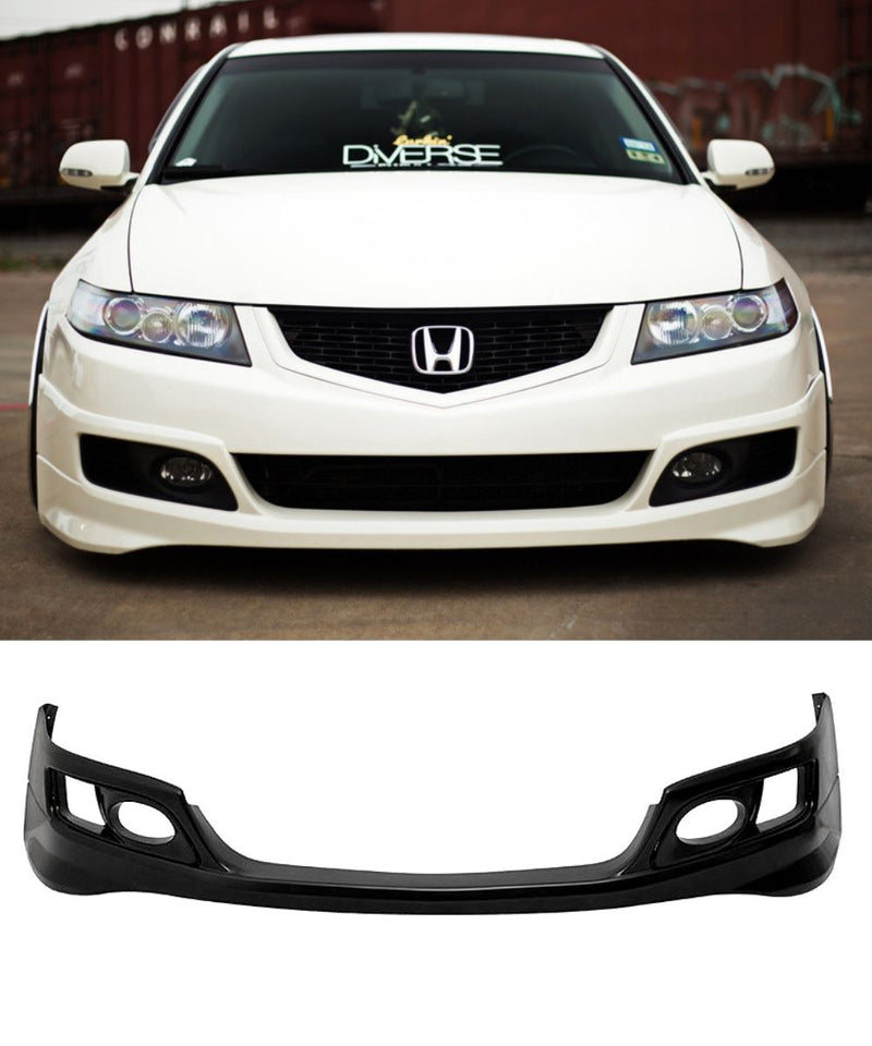 Honda Accord Euro CL9 - ASPEC Style Front Bumper Lip (06-08) - ELITE GARAGE